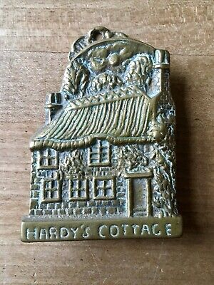 Brass Door Knocker Thomas Hardy's Cottage Hardware Salvage Vintage Small