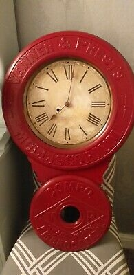 Antique Adverising Wall Clock