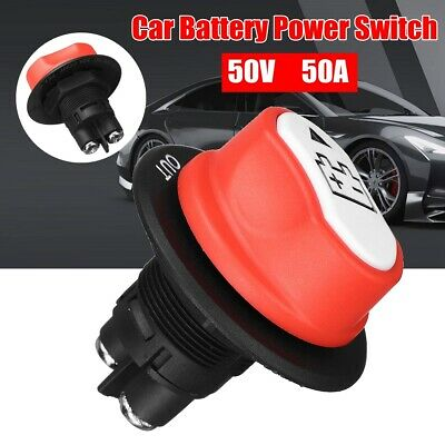 12V 50A Battery Isolator Disconnect Cut Off Power Kill Switch for Car Truck