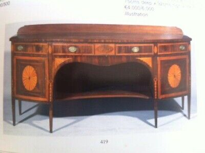 Late 18th Century Bow-fronted Sideboard