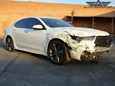 2018 Acura TLX w/A-SPEC Pkg 2018 Acura TLX Salvage Damaged Vehicle! Priced To Sell! Wont Last! Must See!!