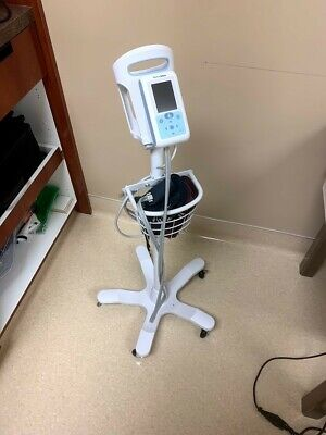 Welch Allyn ProBP 3400 Non-Invasive Blood Pressure Device with Stand and 2 Cuffs