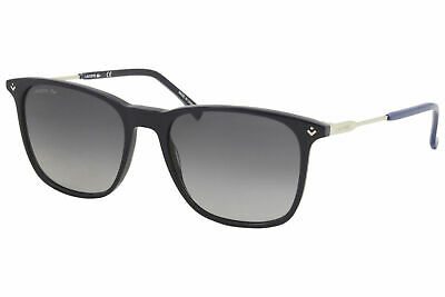 LACOSTE Sunglasses L876S 424 Matte Blue-Grey Rectangle Men/'s 57x16x145