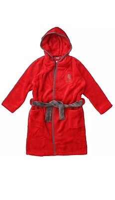 Liverpool kids dressing gown / Childrens bathrobe (childs boys robe pjs pajamas)