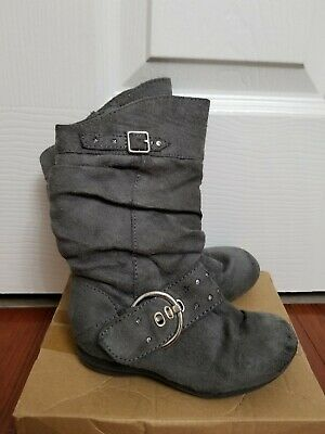 NEW Girl/'s Canyon River Blues Peggy Ankle Zipper Boots 66380 Chocolate  48B pc