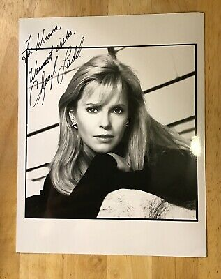 CHERYL LADD Autograph 8x10 Signed Photo Auto American Actress Charlie's Angels