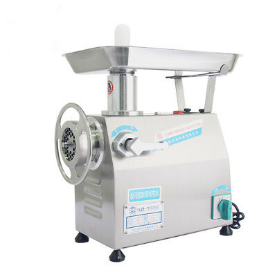 250kg/h Commercial Electric Meat Grinder Meat Mincer Mincing Machine 220V