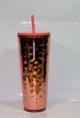 Starbucks Holiday Golden Shimmer 2019 Venti 710ml / 24oz Cold Cup Tumbler