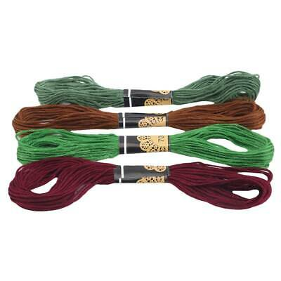 Cross Stitch Cotton Sewing Skeins Embroidery Thread Floss Kit JA