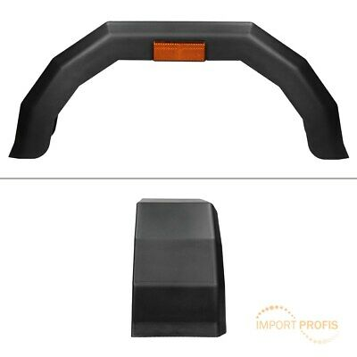 """Trailer mudguard for 13"""" wheels wheel arch mud guard wing fender with reflector"""