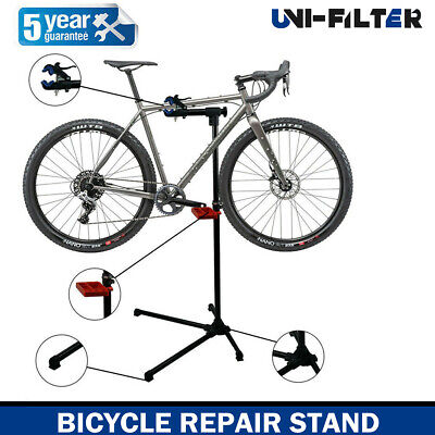 Bike Repair Stand Adjustable Height Bicycle Maintenance Rack Workstand Tray BR