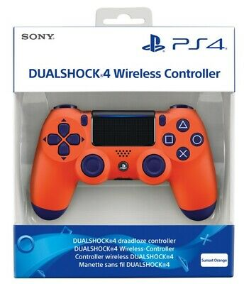 Controller Sony Wireless Ps4 Dualshock 4 Pad Sunset Orange Playstation 4 V2