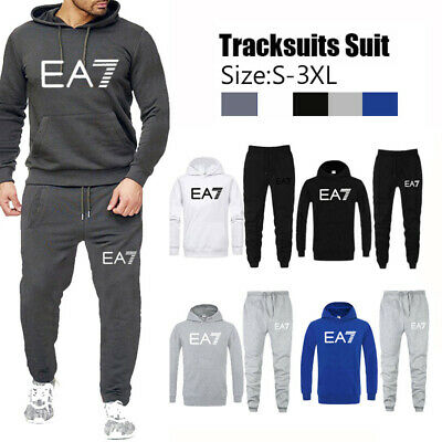 Mens Jogging Tracksuits Sets Hoodie Bottoms T-Shirts Shorts Trousers Fitness Gym