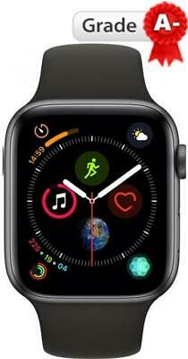 Apple Watch Series 4 44mm Space Grey Black Sports Band Grade A-