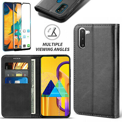 SAMSUNG GALAXY NEW (2019) Protective Stand Flip Book Wallet Case Card/Cash Cover