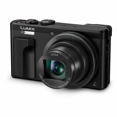 Panasonic Lumix Dmc Tz80 4K Digital Cameras Black