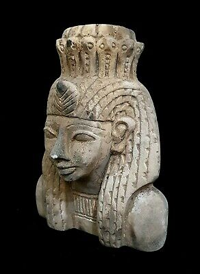 Nefertari Meritmut Egypt Antiques Egyptian Queen Wife Of Ramesses the Great Bust