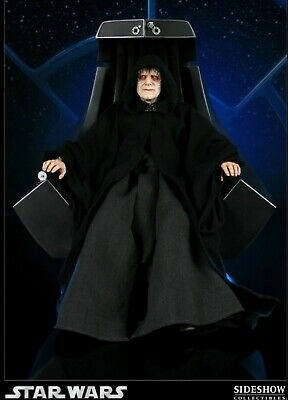 Emperor Palpatine And Imperial Throne  Premium Format Statue Sideshow