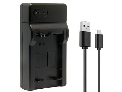 Ultra Slim USB Digital Camera Battery Charger For Sony NP-FW50 Battery UK STOCK