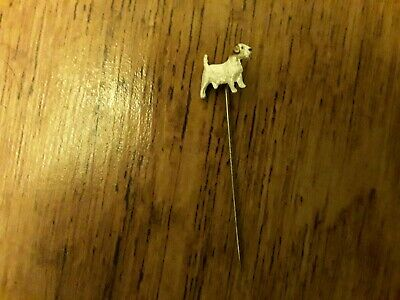 Sealyham terrier collectable hat or tie pin