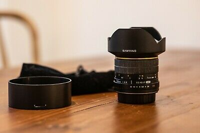 Samyang 14mm f2.8 for Canon Mount - Excellent Condition