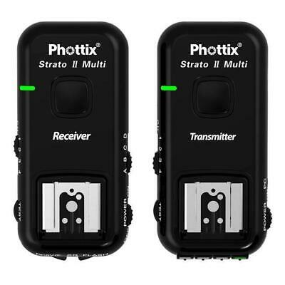 Phottix Strato II Multi Wireless Receiver and Transmitter Trigger Set for Sony
