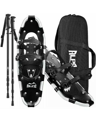 Adult Snowshoes Set All Terrian For Men Women Youth With Trekking Poles Tote Bag