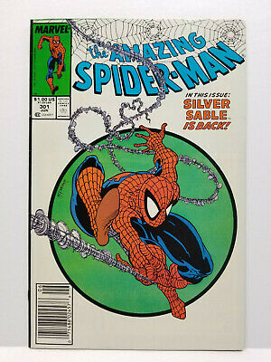 The Amazing Spider-Man # 301, Newsstand Variant Todd McFarlane (Marvel 1988)