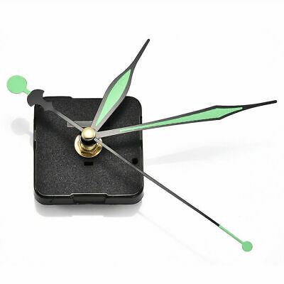 Luminous Hands DIY Quartz Clock Spindle Movement Mechanism Repair Parts Set