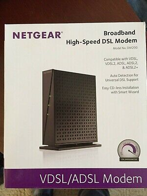 Netgear DM200 Broadband High-Speed DSL Modem, as new