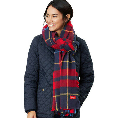 Joules Womens Heyford Oversized Ultra Soft Square Scarf