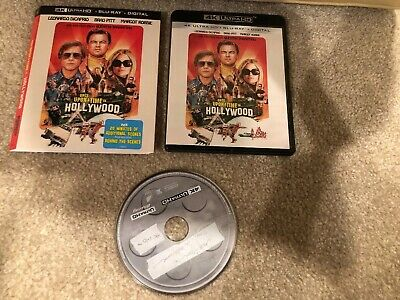 Once Upon A Time In Hollywood 4K Ultra HD 1 Disc Set ( No Digital HD )