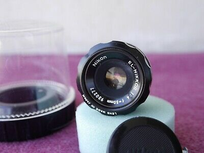 ++  Nikon El-Nikkor 50mm f4  Enlarging Lens.  + Box.CP-2