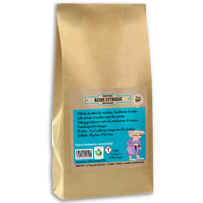 Acide citrique monohydrater E330 kraft 5kg