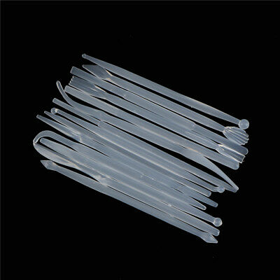 14X Plastic Clay Sculpting Wax Carving Pottery Tool Polymer Modeling Clay To KY