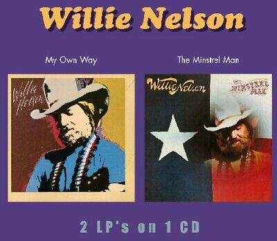 Willie Nelson - My Own Way / The Minstrel Man CD NEW