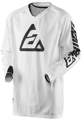 Maillot Answer Cross Elite Solid Blanc L