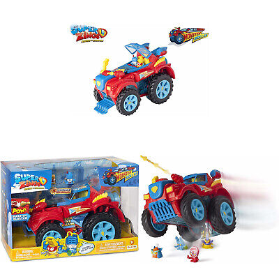 SuperZings- Heroe Truck Giocattolo PlaySet, Colore Assortiti, con Monster Roller