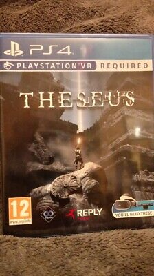 Theseus VR PSVR PS4 PlayStation 4