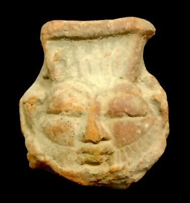 Beautiful Amulet Bes Ancient Antiquities Egyptian Antiques Figurines Sculptures