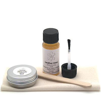 Leather Glue Filler Compound Repair Kit for ROLLS-ROYCE Corniche Silver Car Seat