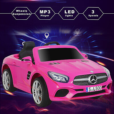 Kids Ride On Car 12V Electric Toy Cars Licensed MERCEDES BENZ Remote Control
