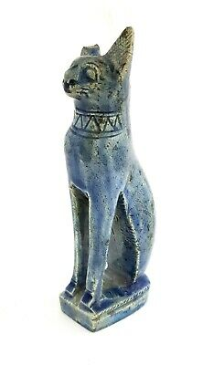 Rare Bastet Egyptian Statue Cat Goddess Figurine Ancient Sculpture Egypt Bast