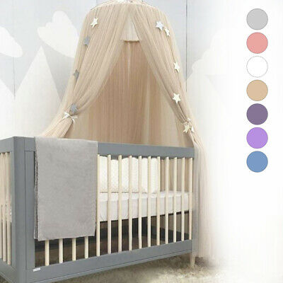 Kid Baby Bed Bedcover Mosquito Netting Curtain Bedding Dome Tent Room Decor EP
