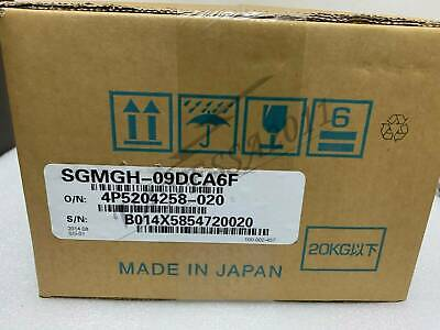 1PC New Yaskawa servo motor SGMGH-09DCA6F