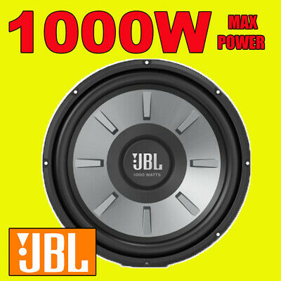 "JBL 12"" Inch 1100w Car Audio Subwoofer Driver Bass STAGE SPL Sub Woofer New"