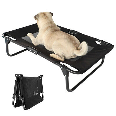 Small Large Elevated Dog Bed Lounger Pet Raised Sleep Hammock Indoor Outdoor Use