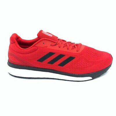 ADIDAS MENS RESPONSE LT Boost Running Shoes Red Black Low