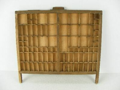 Old Printers Drawer Type Tray Great For Displaying Miniatures