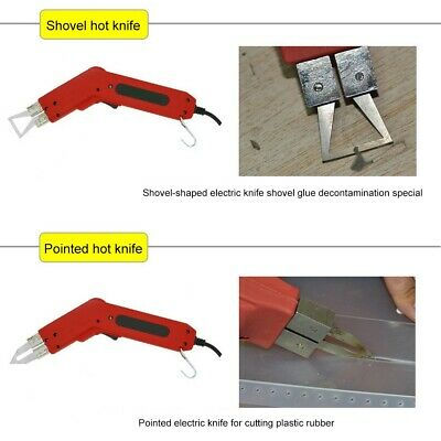 Electric Heating Knife Styrofoam Foam Heat Wire Grooving Hot Cutter Tools 250W